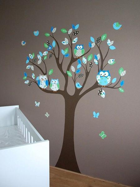 babykamer behang | 123babykamer.nl, Deco ideeën