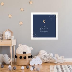 canvas babykamer